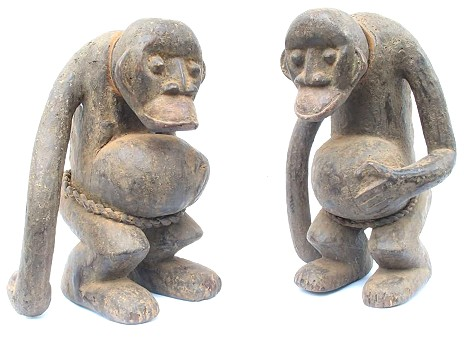 2 apes